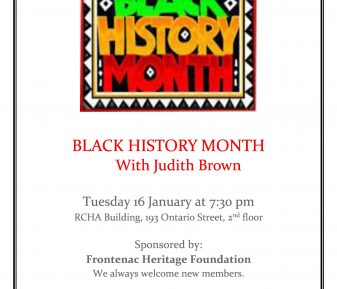 Judi Brown and Black History Month