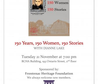 150 Years, 150 Women, 150 Stories Speaking Event