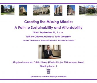 Creating the Missing Middle, A Path to Sustainability and Affordability
